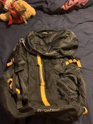 Outdoor Products Arrowhead Camping Backpack for Sale in Phoenix, AZ