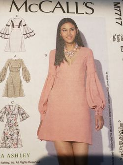 McCall's M7717 Misses Dresses Sewing Pattern for Sale in Sanford,  FL