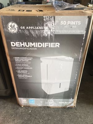 GE 50 pt. Dehumidifier, ENERGY STAR for Sale in Temple City, CA
