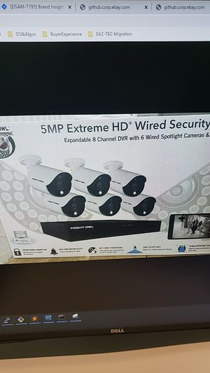 Night Owl 8 Channel 5MP Extreme HD 6 Spotlight Camera Wired Security System 1TB for Sale in Bellevue, WA