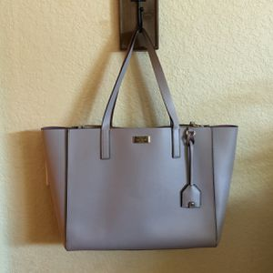 Large Gray & Purple Kate Spade Leather Tote Bag for Sale in San Diego, CA