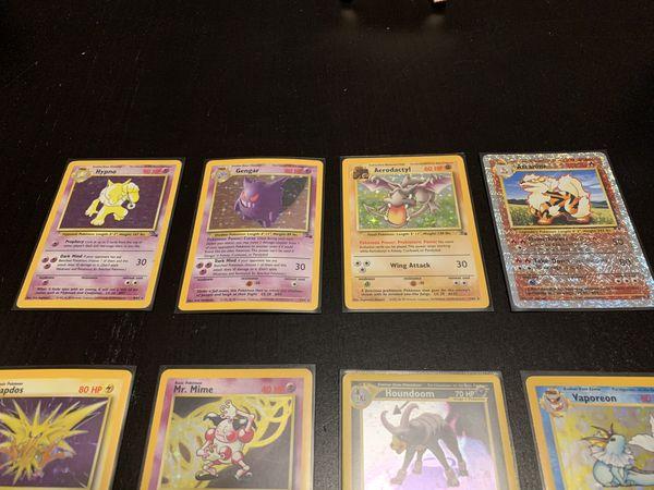 Pokémon cards holo foil 12 card rare lot!!