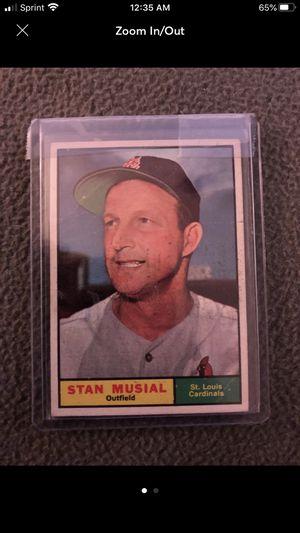 1961 Topps Baseball #290 Stan Musial for Sale in Roanoke, TX