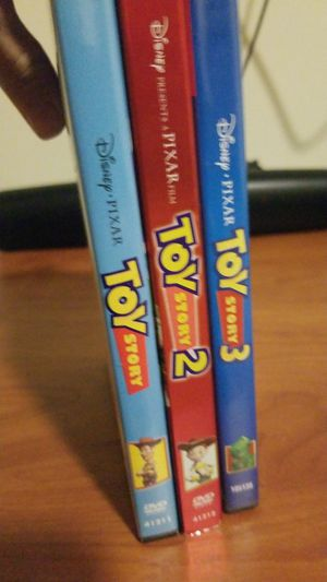 Toy Story 1, 2 & 3 DVD Set for Sale in Fort Lewis, WA