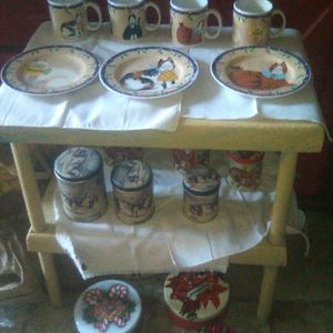All Cat Kitty Plates And Cups for Sale in Modesto, CA