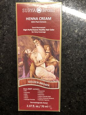 Surya Brasil Henna Cream Hair Color for Sale in Mount Prospect, IL
