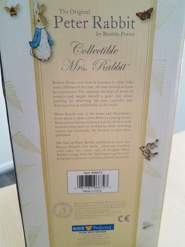 Mrs.Rabbit collectible