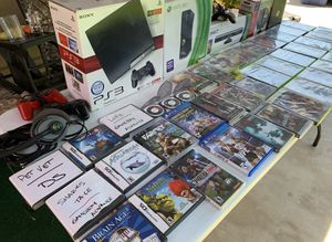 *Lot of MISC GAMES, XBOX 360, PS3, BEATS by DRE for Sale in Turlock, CA