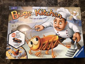 Ravensburger Bugs In The Kitchen Board Game Hexbug Works for Sale in Elgin, IL