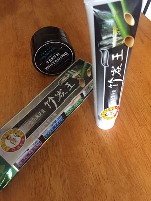 Organic Whitening Combo! Natural Charcoal Toothpaste and Activated Charcoal Powder for Sale in Raleigh, NC