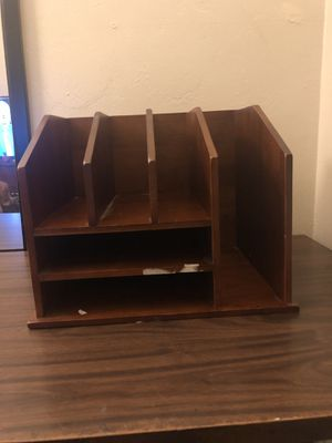 Desk organizer & desk for Sale in Chula Vista, CA