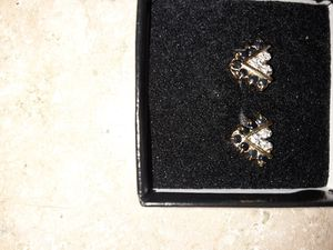 Real Sapphire diamond earings for Sale in UPPR CHICHSTR, PA