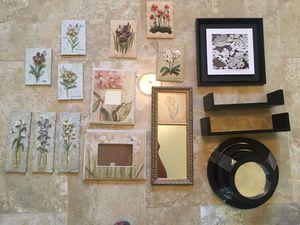 Wall decor . 20 pieces . for Sale in Sandston, VA