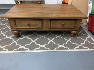 Ethan Allen Coffee Table & Two End Tables for Sale in West Palm Beach, FL