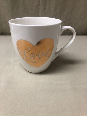 Pfaltzgraff Gold Heart Mug New for Sale in Kissimmee, FL