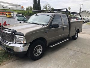 2003 Ford F-250 utility 5.4L gas racks for Sale in San Jose, CA