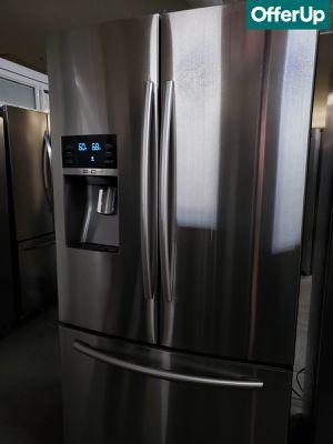 🚚💨French Door 3-Door Samsung Refrigerator Fridge With Warranty #1192🚚💨 for Sale in San Bernardino, CA