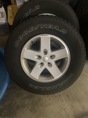 Jeep wheels and tires for Sale in Kennesaw, GA
