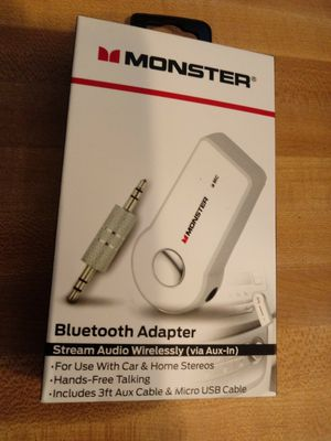 Bluetooth adapter NEW for Sale in Raleigh, NC
