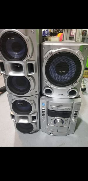 Sony Stereo System with Subwoofer for Sale in Norfolk, MA
