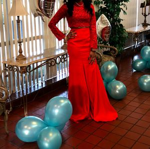 Red 2 piece dress for Sale in DeSoto, TX