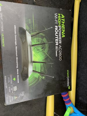 ATHENA HIGHPOWER ac2600 WiFi router for Sale in Los Angeles, CA