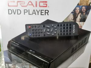 Craig dvd player for Sale in Burleson, TX