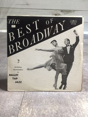RARE! The Best of Broadway HLP-4105 Vinyl LP - Hoctor Dance Records for Sale in Poway, CA