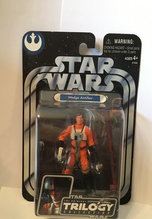 Star Wars Trilogy Collection. Wedge Antilles Action Figure for Sale in Philadelphia, PA