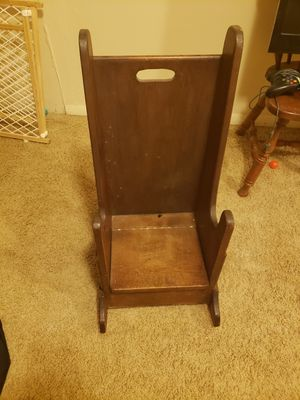 Wooden children's rocking chair for Sale in O'Fallon, MO