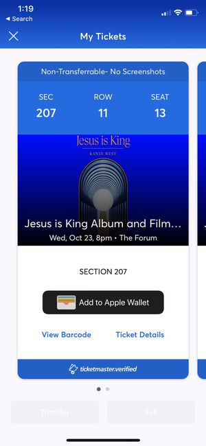 Jesus Is King showing for Sale in Inglewood, CA