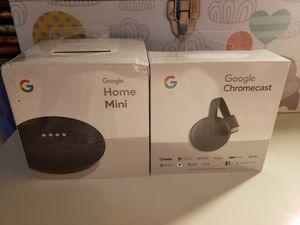 Google mini and chromecast for Sale in San Jose, CA