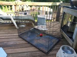 DOG CAGE LARGE SIZE for Sale in Covington, GA
