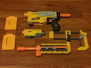 Nerf N-Strike Gun Recon CS-6 (With All Attachments) for Sale in Miami, FL