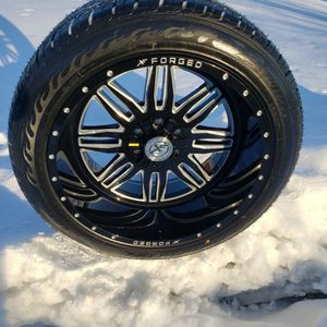 22x12 XF Forged 6x5.5/ 6x135 W/ Floated Caps & 305/45R22 Atturo AZ800 Brand New for Sale in South Elgin, IL