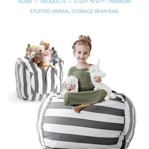 Stuff And Sit Premium Stuffed Animal Storage Bean Bag for Sale in Puyallup, WA