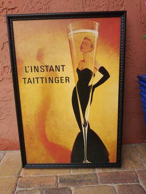 Large Framed Decorative Art Print for Sale in Port Orange, FL