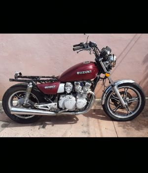 1982 Suzuki GS550L True Antique Motorcycle Project Clean Title in Hand PRICE IS FIRM for Sale in Hollywood, FL