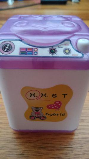 Mini toy washing machine for Sale in Passaic, NJ