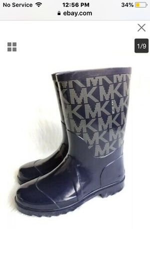 Michael Kors size 12 girls rain boots for Sale in Albuquerque, NM