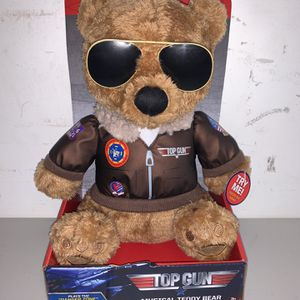 Top Gun Musical Teddy Bear Sings Danger Zone NEW for Sale in Miami, FL