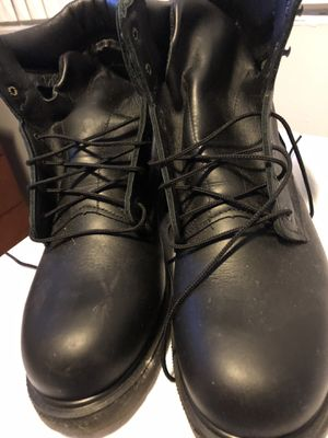 Red wings work boots size 11 for Sale in Miami, FL