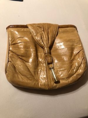 Vintage EEL skin purse for Sale in Albuquerque, NM