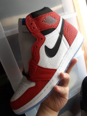 "Air Jordan 1 ""Origin "" SpiderMan sz 12 for Sale in Dallas, TX"