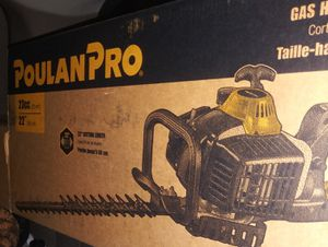 Poulan pro dual blade hedge trimmer for Sale in Riverside, CA