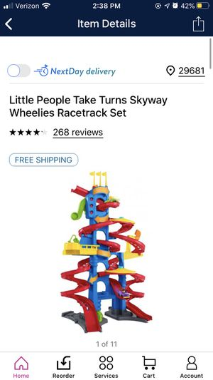 Kids car tower toy for Sale in Simpsonville, SC