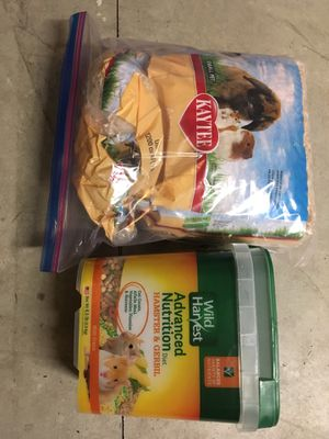 Hamster/Gerbil Food and Aspen Bedding for Sale in Portland, OR