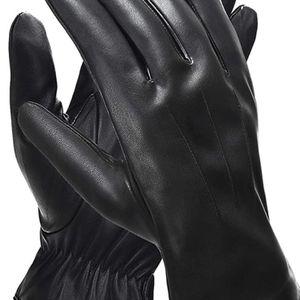 Men's Winter Black Leather Gloves for Sale in Gilbert, AZ