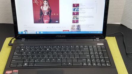 """LISTA PARA USAR!! 15.6"""" Asus (Win 7 ESPAÑOL) Laptop Computer!! + BATERÍA NUEVA!! for Sale in Hialeah,  FL"""