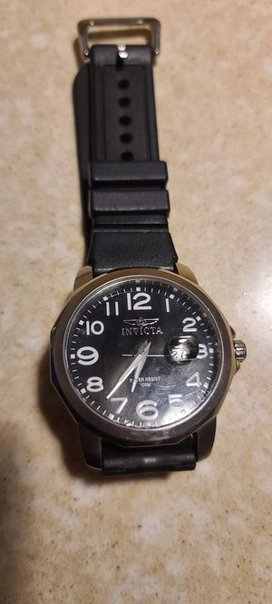 Mens Invicta watch needs battery for Sale in Puyallup, WA